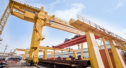 Overhead Gantry Crane Working in High Temperature