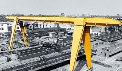 15 Ton Rail Mounted Gantry Crane for Sale Price