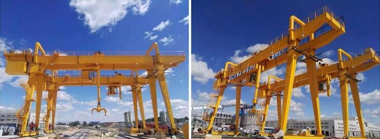 50 Ton Double Girder Gantry Crane Delivery to Russia