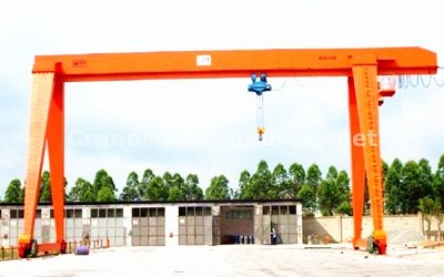10 Ton Single Girder Gantry Crane Specifications Design