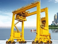 Rubber Tyred Gantry Crane Price, for Sale, Manufacturer, Specification