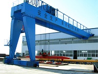 Semi Gantry Crane Manufacturers, Design, Definition, Catalogue