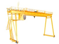 Custom Gantry Crane Designs, Plans, Sales