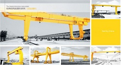 Single Girder Gantry Crane or Double Girder Gantry Crane