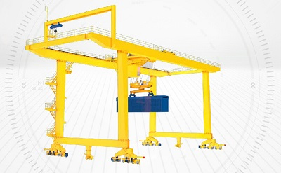 Rail Mounted Gantry Crane Video