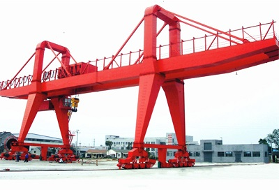 100 Ton Rail Mounted Gantry Crane for Sale Price
