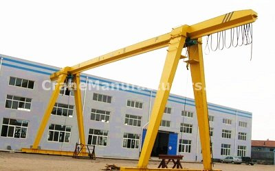 1 - 3 Ton Single Girder Gantry Crane Specifications Design