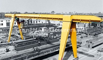 5 Ton Single Girder Gantry Crane Specifications Design