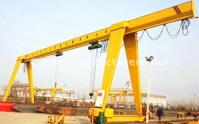 15 Ton Single Girder Gantry Crane Price for Sale