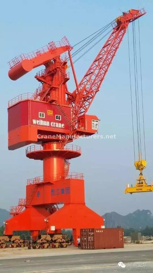 Port crane for Guangxi in year 2015
