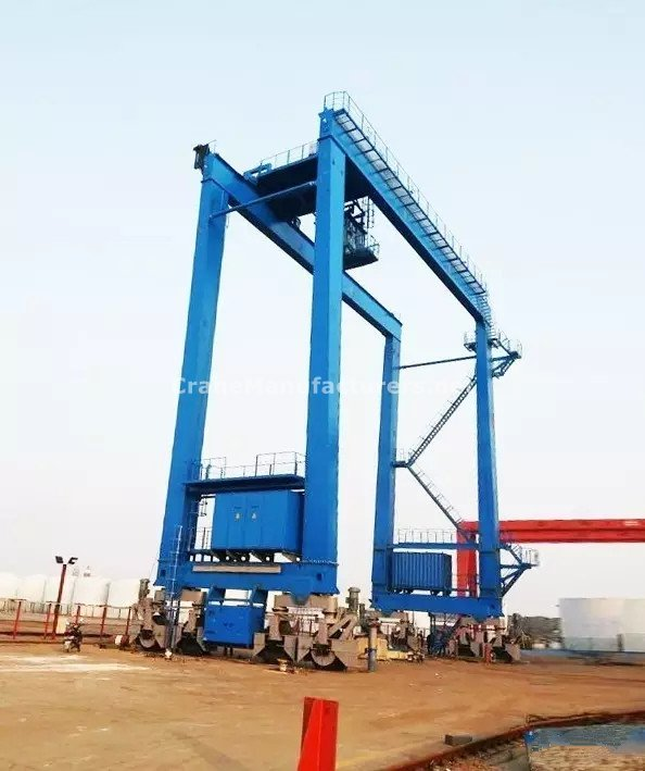 Rubber Tyred Gantry Crane Specification - Total crane