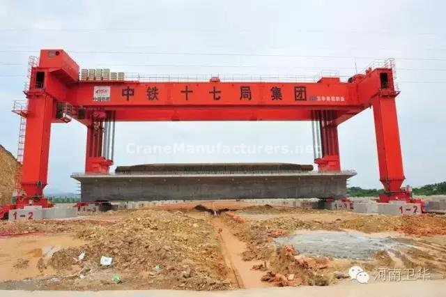 900 ton gantry crane for China CRH in year 2010