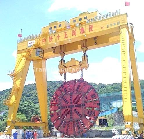 400 ton Shield gantry crane for China Shenzhen in year 2013
