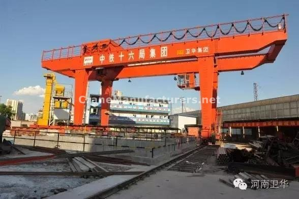 35 ton gantry crane for China Beijing Metro in year 2012