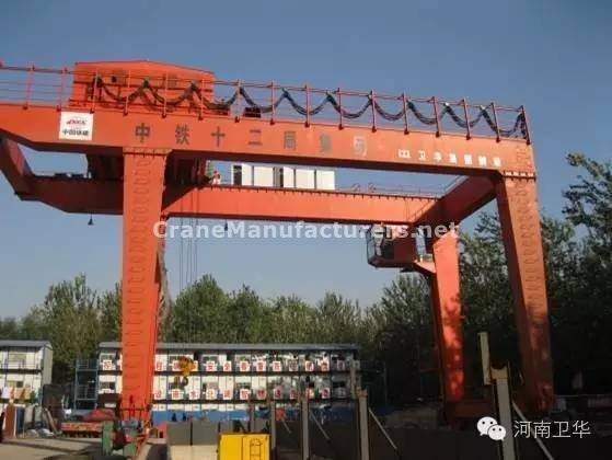 40 ton gantry crane for China Tianjin Metro in year 2015